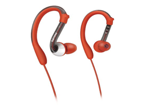 Philips ActionFit SHQ3000/28 Earhook Headphones Tuned for Sports