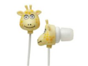 Zoo Ear Buds - Giraffe