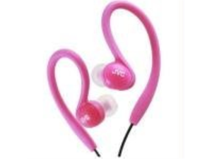 JVC HAEBX85P Sports Ear-Clip Headphones