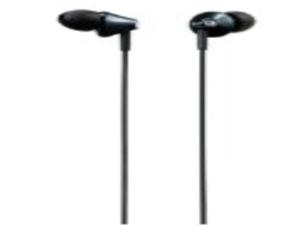 Panasonic RP-HJE295-K Deep Base Ergo-Fit Inner Ear Earbud Headphone Black