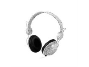 Zenex EP5445 Graphic Collection Headphones- White Mosaic