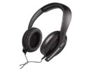 Semi-circumaural&#59; closed headphone with
