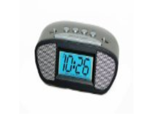 Equity by La Crosse 31015 Digital LCD Alarm Clock with Blue Display