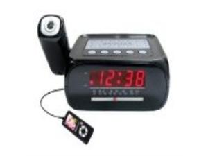 Supersonic SC-371 Digital Projection Alarm Clock with AM/FM Radio