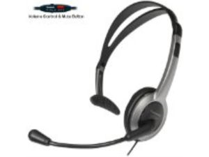 Panasonic Hands-Free Headset with Foldable Comfort Fit Lightweight Headband & Flexible Optimum Voice Microphone with Volume ...