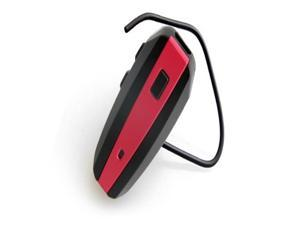 NoiseHush N500 Wireless Bluetooth Headset for iPhone, Blackberry, HTC, Samsung, LG, Motorola, and Nokia - Black/Hot Pink