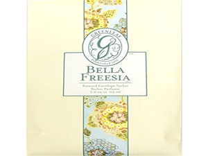 Greenleaf Large Scented Fresh Paper Drawer Sachet -Bella Freesia