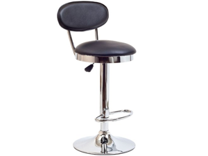 Retro Bar Stool - Black + FREE Ebook for Modern Home Design Inspirations