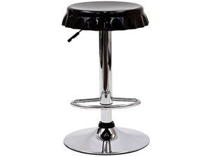 Soda Bar Stool - Black + FREE Ebook for Modern Home Design Inspirations