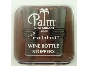 Rabbit Wine Bottle Stopper - Palm Restaurant
