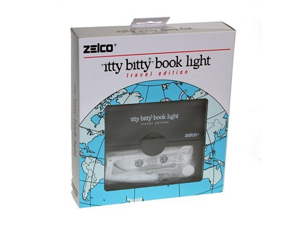 Zelco Itty Bitty Travel Edition Booklight