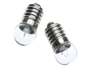 Zelco Itty Bitty Book Light Replacement Bulbs, 2 bulbs/pkg