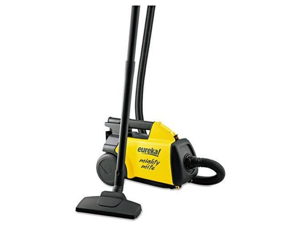 EUREKA 3670 Lightweight Mighty Mite Canister Vacuum, 9A Motor, 8.2 lb, Yellow