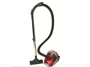Atrix Lilhepa Canister Vacuum, Red