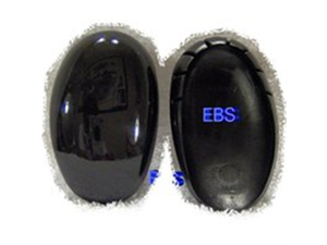 ear protectors shieldss sell by pair protects ear from dryers, lrons and chemicals