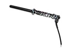 PYT Clip Free Curling Ironing Rod Pro Style Tool, Snow Leopard, 19mm