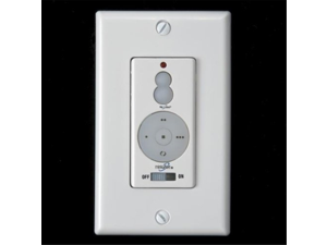 Minka-Aire WC221 Wall 3-Speed Fan & UpDown Light Dimmer (with Receiver)