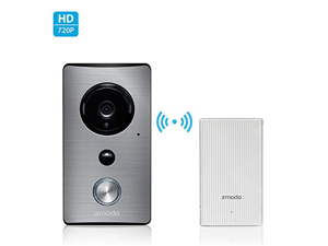 Zmodo Greet -WiFi Video Doorbell with Zmodo Beam Smart Home Hub and WiFi Extender