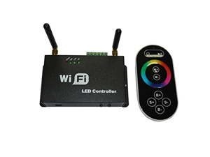 Generic Wifi LED Controller for iPhone /Android with RF Touch Screen Remote For RGB LED Strips