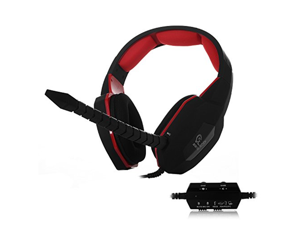 HUHD® HG-939MV Multi function Stereo Gaming Headset for PS4, PS3, and Xbox 360, PC, Compatible with Xbox One ,Noise Cancelling, Detachable Microphone