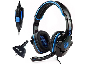SADES SA-708 Stereo HiFi Gaming Headphone Headset with Microphone for XBOX 360/PC/Notebook/Laptop