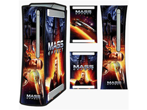 MADCATZ, INC. Mass Effect Faceplate & Console Skinz for Xbox 360