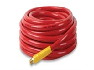 "Workforce® 1/2"" x 50 Red PVC Air Hose, 3/8"" Ends"