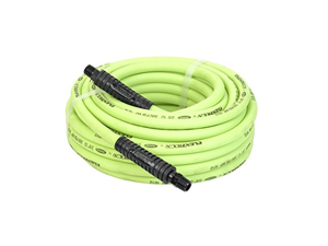 "Legacy HFZ3850YW3 Flexzilla 3/8"" x 50 Lightweight Heavy Duty ZillaGreen Air Hose (3/8"" MNPT ends)"