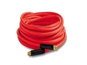 "Workforce® 1/4"" x 50 Red PVC Air Hose with 1/4"" Ends"