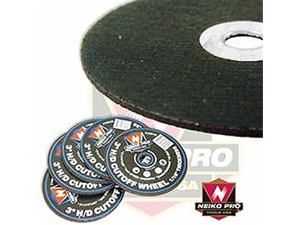 "3"" Heavy Duty Cut off Wheel- 1/16"" Thickness 50 Pack"