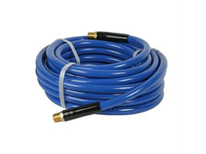 "Workforce® 1/2"" x 50 Blue PVC Air Hose, 3/8"" Ends"