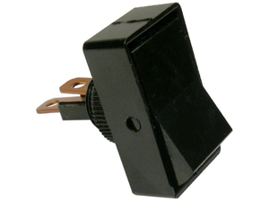 Pico 5515PT 12 Volt 16 Amp On-Off Black Rocker Switch 1 Per Package