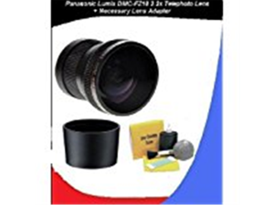 Panasonic Lumix DMC-FZ18 2.2 HD High Resolution Telephoto Lens (Includes Necessary Lens Adapter - New 2 Part Design) + DIGI 5 Piece Cleaning Kit