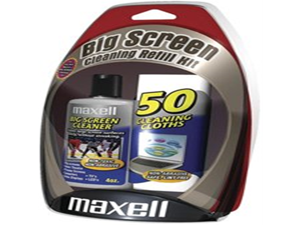 Maxell Big Screen Cleaning Refill Kit (BSCR-1) (Discontinued by Manufacturer)