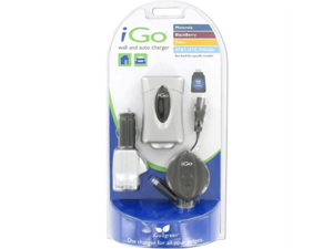 Car/Wall Charger Smart Phones MiniUSB Palm HTC Tip Included