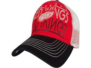 Detroit Red Wings Face-Off Slouch Adjustable Snapback Hat