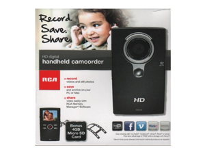 RCA EZ2110 Small Wonder HD Digital Handheld Camcorder