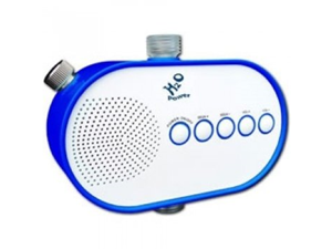 H2O Audio H2O-100 Power Water Pressure Powered Shower Radio