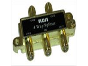 RCA 4-Way Signal Splitter (VH49)