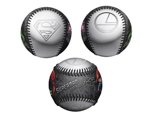 Superman vs Lex Luthor Logos DC Comics Black Limited Edition 1 of 2500 Baseball