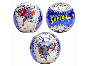 DC Comics Superman Blue Baseball