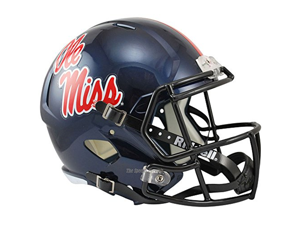 Mississippi Ole Miss Rebels Officially Licensed NCAA Speed Full Size Replica Football Helmet