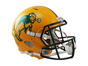 North Dakota State Bison Officially Licensed NCAA Speed Full Size Replica Football Helmet