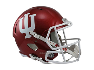 Indiana Hoosiers Officially Licensed NCAA Speed Full Size Replica Football Helmet