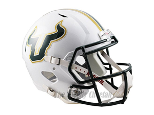 South Florida Bulls Officially Licensed NCAA Speed Full Size Replica Football Helmet