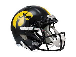 Iowa Hawkeyes Officially Licensed NCAA Speed Full Size Replica Football Helmet