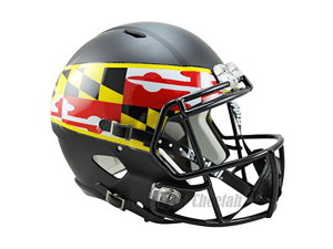 Maryland Terrapins Officially Licensed NCAA Speed Full Size Replica Football Helmet
