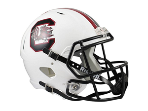 South Carolina Gamecocks Officially Licensed NCAA Speed Full Size Replica Football Helmet