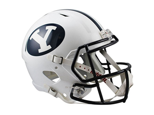 Brigham Young BYU Cougars Officially Licensed NCAA Speed Full Size Replica Football Helmet
