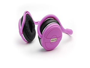 Kinivo BTH240 Limited Edition Bluetooth Stereo Headphone - Supports Wireless Music Streaming and Hands-Free Calling (Posh Pink)